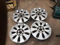 Audi wheels 5x112. Open to sensible offers.