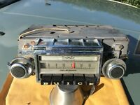 Buick car radio