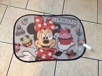 Minnie Mouse car window blind