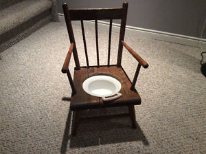 1900's potty chair