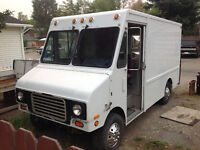 1991 Ford E-350 cube van 5000 spend on new parts