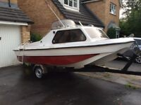17 ft fast Fishing boat for sale