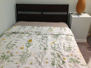 Twin IKEA Bed with mattress