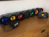 Disco lights, laser and strobe hardly used.