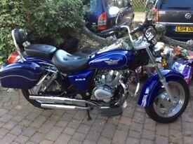 Pioneer xf125l motorcycle