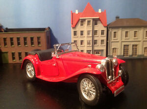 Die Cast  Scale 1/18 1947 MG TC Midget Sports Car
