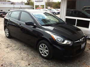 2012 Hyundai Accent Hatchback With Snow Tires