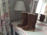Marks and spencer girls Boots size 3