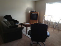 One Bedroom Furnished Suite Available for Short-Term Rentals