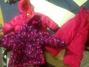 Winter jackets and snow pants for girl Windsor Region Ontario image 1
