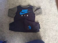 Boys Nike tracksuit 12-18 months