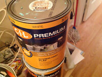 3.7 L CIL paint NEW unused can - colour - ocean spray