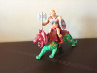 He Man vintage action figures and machines