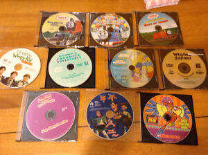 9 Various Movies/ Cds- mostly children's