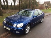 1998 Lexus GS 300 SE Automatic-2 owners-service history-September 2017 mot-exceptional example