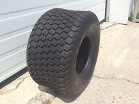 Riding tractor tires