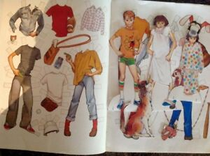 RAMONA PAPERDOLLS FROM THE 80S