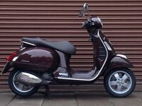 Piaggio Vespa GTS 125 Only 1991miles. Nationwide Delivery Available *Credit & Debit Cards Accepted*