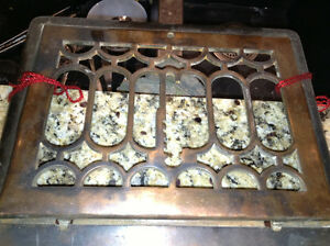 Antique heating grates for sale