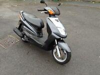 Yamaha Cygnus 125cc scooter moped not 50cc