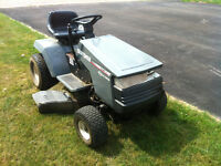 Craftsman ride on lawn mower tractor