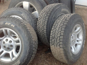 245/75/16 tires on dodge Dakota rims
