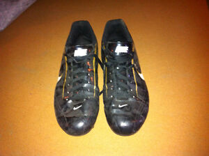Nike man football shoes, size 12