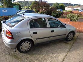 Vauxhall Astra 1.4 long mot