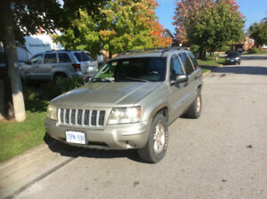 2004 Jeep Grand Cherokee Leather SUV, Crossover