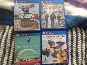 4 PS4 games $75 for all 4