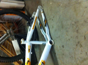 BMX FRAME WITH FRONTEND  - wheels etc. available