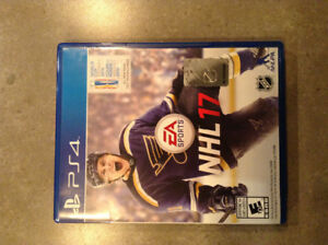 Nhl17 for PS4