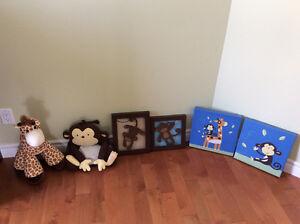 Décoration chambre enfant jungle