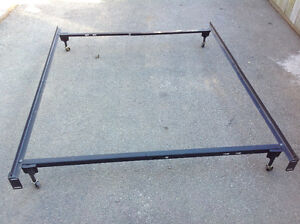 """bed metal frame  only -full(53"""")/queen(60"""") sizes  - $20 each"""