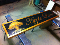 Man Cave Signs Carved and painted