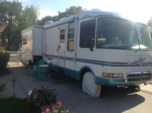 JUST REDUCED. 32 ft Class A motorhome with 2 Large Slideouts
