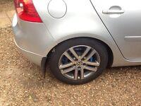 Volkswagen / Audi Atlanta 5 X 112 alloys 16in tyres nearly new golf a3 touran Passat a4 a6