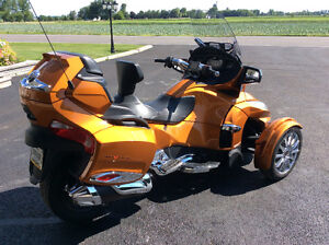 can-am spyder rt limited 2014