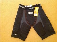 Shock doctor padded compression shorts, new with tags