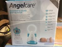 Movement and sound baby monitor