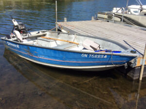 14 Ft Princecraft, with 15 HP and Trailer