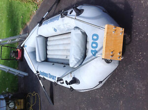 Inflatable boat Seahawks sport 400