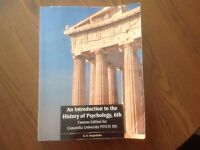 An introduction to The history of Psychology, 6th.