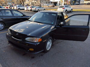 1999 Hyundai Accent GSI 2 door Certification and E-test included