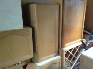 Assorted kitchen cabinets