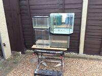 4all glass aquarium vivarium fish tanks
