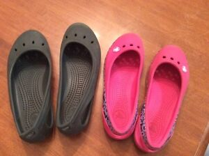 Crocs shoes for girls.
