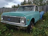 1971 Chevy K10 4x4 Project Truck & Various Parts