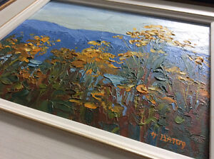Original oil on board painting by NS artist H N Beaton