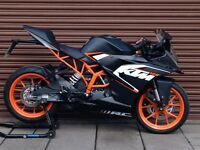 KTM RC 125 ABS 2016. Only 2425miles. Delivery Available *Credit & Debit Cards Accepted*